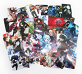 (65 pcs/lot) RWBY Credit Card Stickers Girl Characters Ruby Weiss Blake Yang 2017 Volume 4 Sticker Collection Gift Free shipping