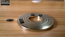 Frontier science, pyrolytic graphite magnetic levitation experiment, passive permanent maglev show science toys