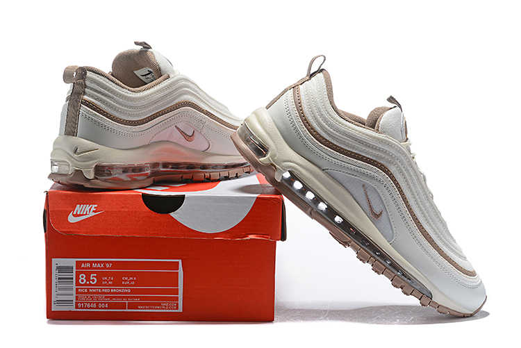 reputable site 9c487 4025b Official Nike Air Max 97 OG QS 2017 RELEASE Men's Running Shoes,New Arrival  Original Breathable Outdoor Sports Shoes 917646-004