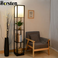 Wooden Floor Lamp Modern Minimalist Living Room Light 3 Colors Bedroom Bedside Lamp 160cm Height Standing Lamp For Living Room