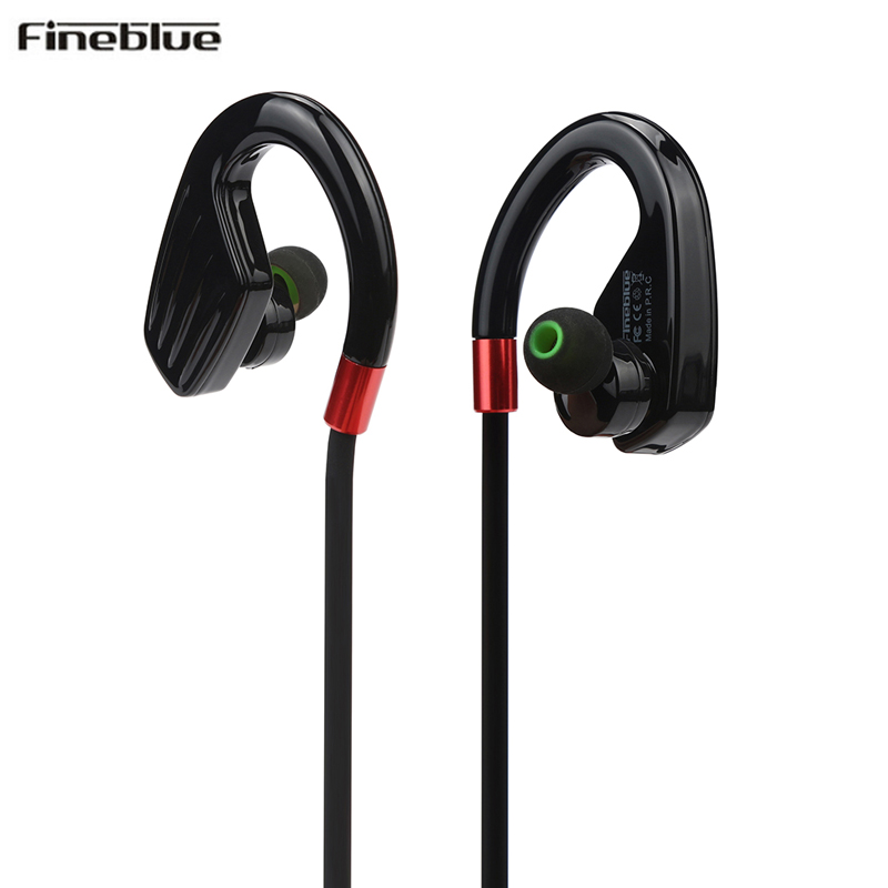 Fineblue M1 Bluetooth Headset V4.1 Wireless Sports Running Stereo Earphone Headsfree Headphones for iphone 8 Samsung galaxy s7 50pcs lot original s9 bluetooth headset s9 sports headphones wireless headset for iphone android iso