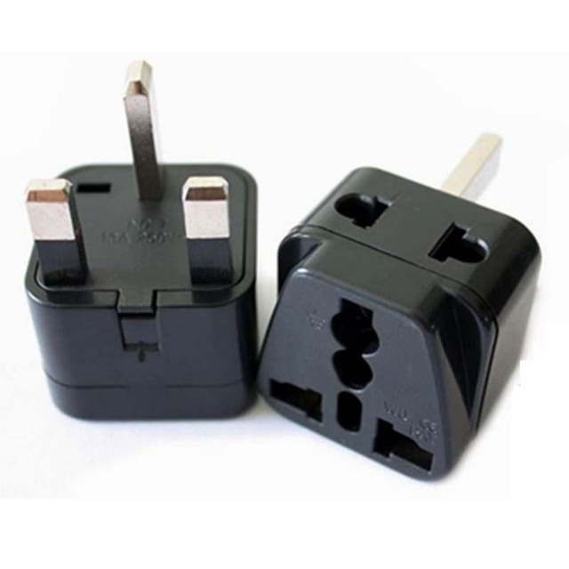 10pcs Lot 1to2 Singapore Uk Plug Socket Travel Wall Ac