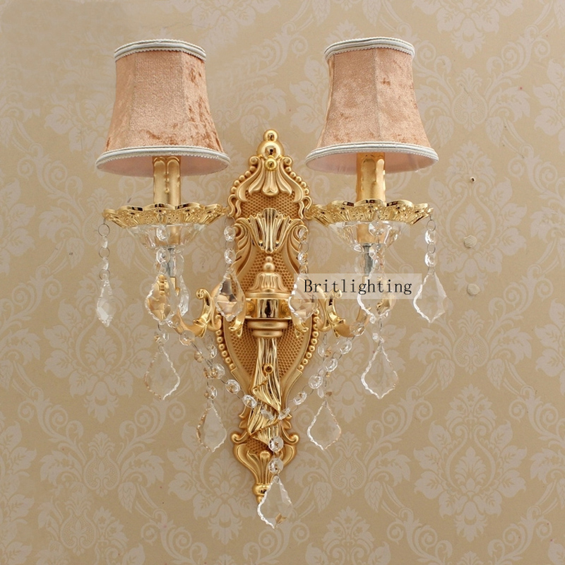 Contemporary Wall Light Crystal Wall Sconces Bedroom Vanity Light Fixtures Crystal Wall L&s Bedside Bathroom Light Fixtures-in LED Indoor Wall L&s from ... & Contemporary Wall Light Crystal Wall Sconces Bedroom Vanity Light ...