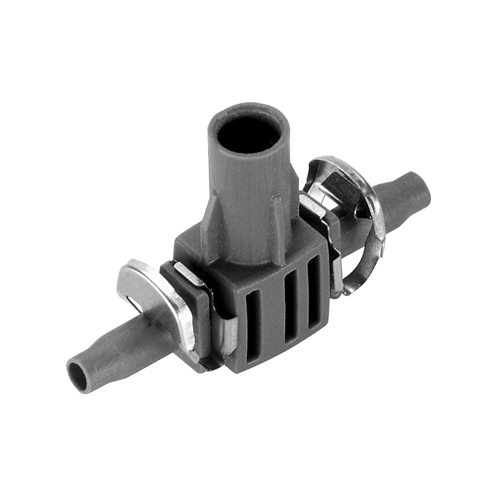 Connector GARDENA T-shaped 4.6 mm Home & Garden Garden Supplies Watering & Irrigation Garden Water Connectors xt60 connector to banana plug 4mm battery connectors charger cable