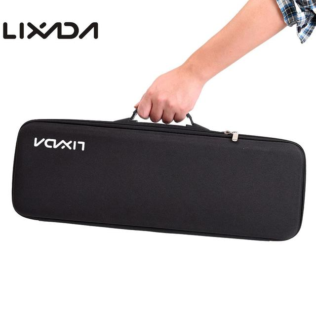 Special Price Lixada Portable Fishing Bag EVA Shockproof Fishing Rod Reel Lure Carry Backpack Fishing Pole Storage Tackle Tool Case for Pesca