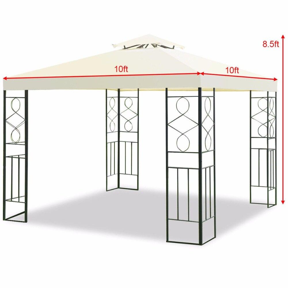 Aliexpress.com : Buy Giantex 2 Tier 10\'x10\' Patio Gazebo Canopy Tent ...