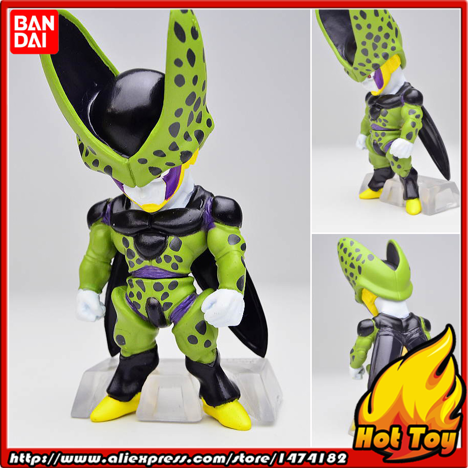 100% Original BANDAI Tamashii Nations ADVERGE 01 Collection Figure - Perfect Cell (5cm tall) from Dragon Ball