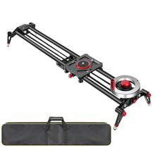 Rails Camera-Slider Dolly Video-Track Neewer Flywheel Carbon-Fiber with Light Counterweight