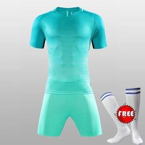 Men Soccer Jerseys Set FREE SOCKS Youth Maillot De Foot Survetement  Football Uniform 7ff20f4e5fe39