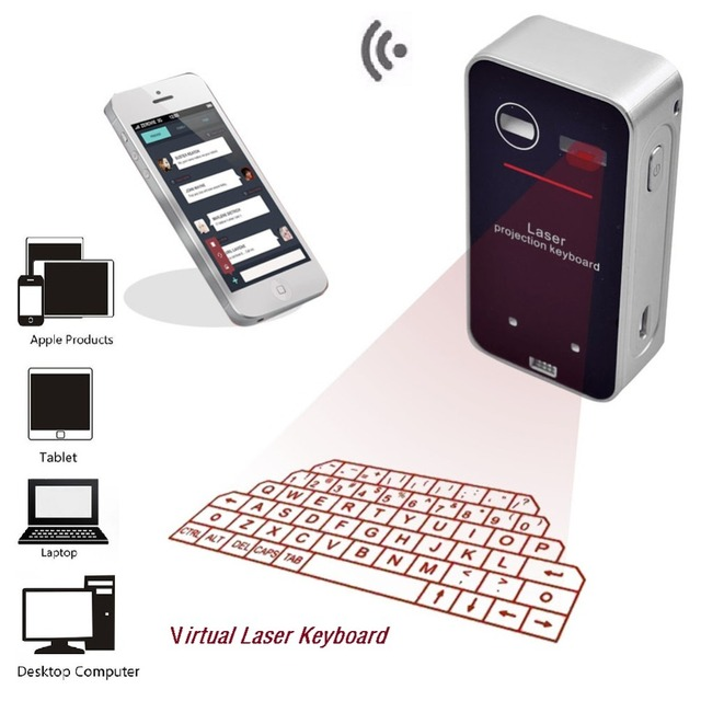 K560S Virtual Laser Keyboard Wireless Bluetooth Projection Keyboard And Mouse  Used for Tablet Pc Mobile Phones XD NEW Arrival Office & School Supplies