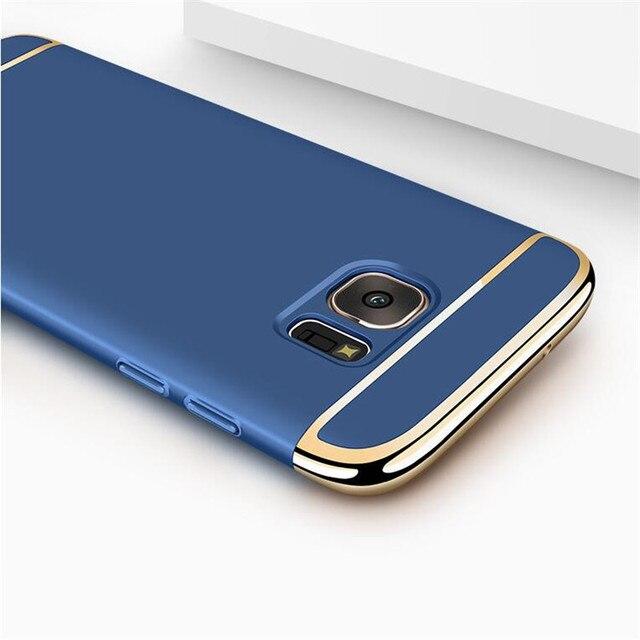 Moda para Samsung galaxy caso Samsung s7 s6 borda Borda traseira capa de proteção integral para Samsung s8 Mais caso galaxy s6 borda