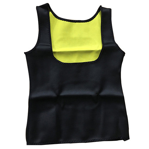 Sports Bra Breast Care Tummy Control Fat Burning Fitness Yoga Gym Running Shapewear Tank Top With None Closure Type