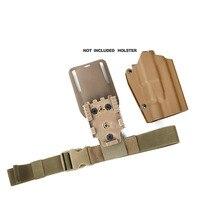 Открытый TMC ремень для бедра версия 2 тактическая эластичная лента удлинить ремень для ног бедра кобура BK/CB
