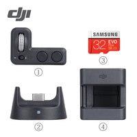 Dji osmo bolso acessórios kit de expansão para osmo cardan estabilizador controlador roda & módulo sem fio & acessório montagem peças Acessórios para cardan     -