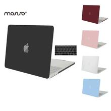 Mosiso kristall matte kunststoff hard case für apple macbook pro 13 Touch Bar Pro 15 A1707 Laptop Shell Pro 13 A1706 A1708 Heißer