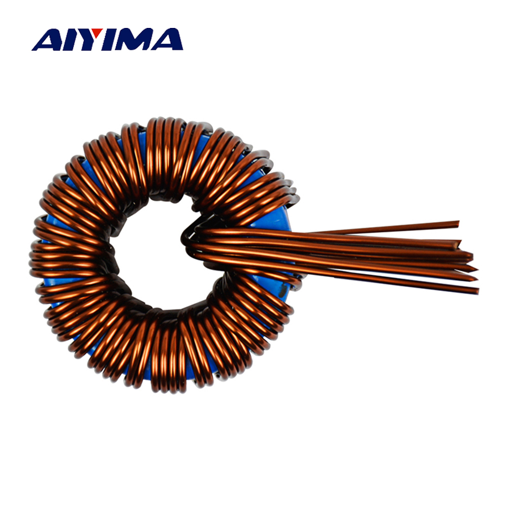 Aiyima 45uh 160A Magnetic Coil Sendust inductance Inductor For Power Frequency Sine Wave Inverter 1000 4000W