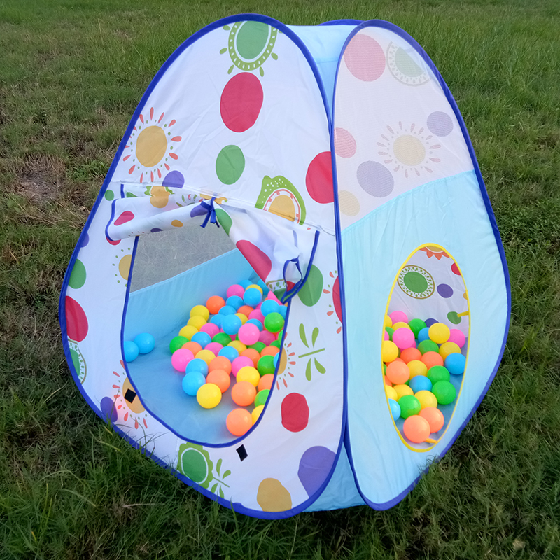 Foldable-Baby-Pool-Tube-Teepee-Toy-Tents-3pc-Pop-up-Play-Tent-Toy-Children-Tunnel-Kids