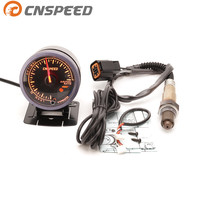 Free Shipping CNSPEED 60mm Car Auto Air Fuel Ratio Gauge & Narrowband Front Oxygen Sensor For 1999 2010 Hyundai Accent Car Meter