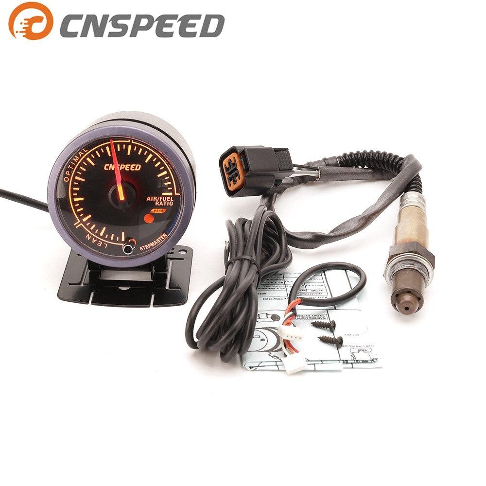 Jauge automatique de rapport de carburant d'air de voiture de CNSPEED 60mm et capteur d'oxygène avant de bande étroite pour 1999-2010 mètre de voiture d'accent de Hyundai
