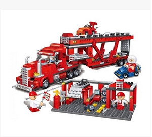 BB Model Compatible with Lego BB8762 660Pcs Truck Models Building Kits Blocks Toys Hobby Hobbies For Boys Girls цена