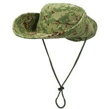 Камуфляжная шляпа ведро в рыбацком стиле щит для джунглей летняя