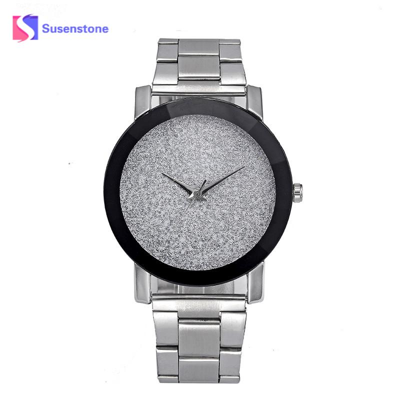 Lover's Watch Fashion Men Women Watches Casual Simplicity Star Minimalist Luxury Watches For Lovers Stainless Steel Strap Watch