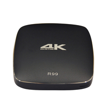 T077 4K Intelligent Network TV Set-top Box Wifi Wireless Android TV Box High-performance Processor HD Network Player