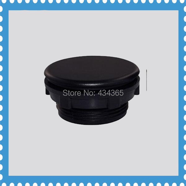Black 30mm Mount Hole panel plugs  cap plastic for  push button switch home plastic round flush mount cable connector hole plugs covers white 25x25mm 8pcs