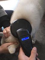134 2KHz FDX B Pet Microchip Portable RFID Scanner Animal RFID Tag Reader Scanner FDX A