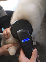 134 2KHz FDX B Pet Microchip Portable RFID Scanner Animal RFID Tag Reader Scanner FDX A