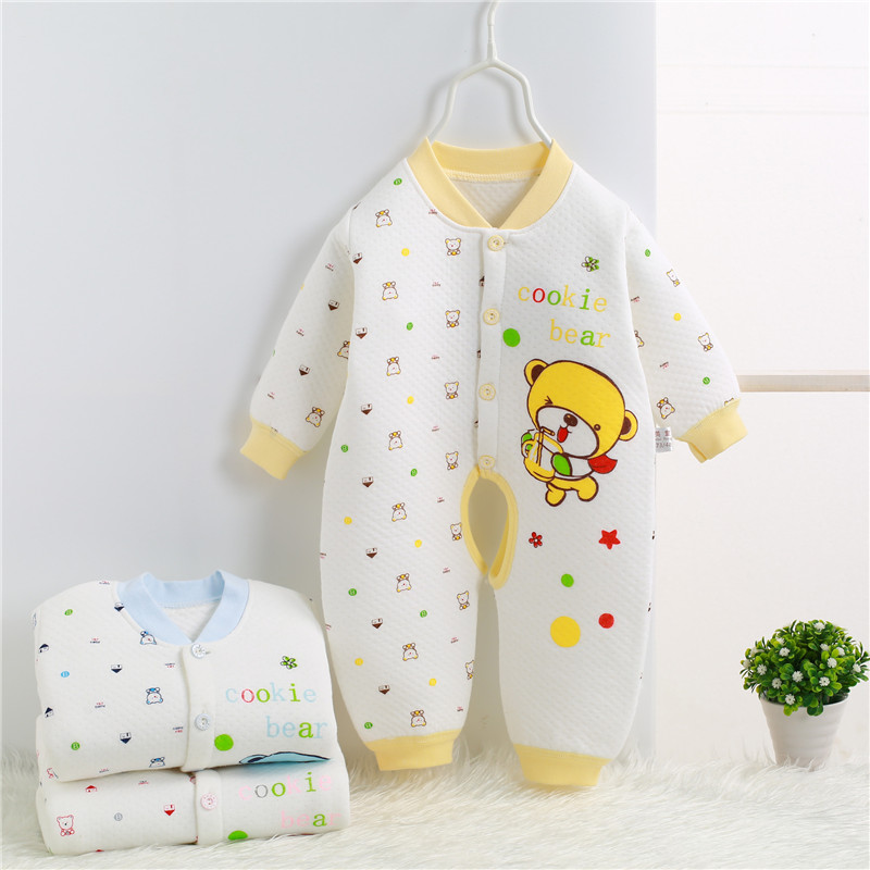 2017 Spring Autumn Newborn Romper cartoon baby girl baby clothing 100% cotton baby boy clothes jumpsuit bebes 0-1 years SKA08 (1)