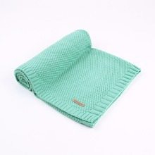 Winter Warm Soft Knitted Swaddle Blanket