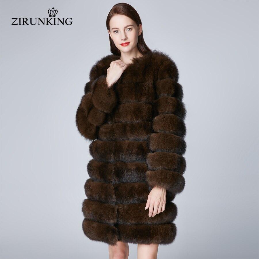 Lady De Femmes Manteau Longs Imitate Manteaux Fourrure Renard Color Vêtements Naturelle Winter Femelle Cold Chaud Sable Zc1854 Zirunking Épais Pour Réel Survêtement 5PXZXq