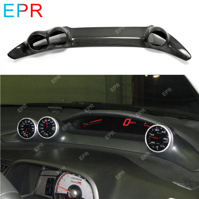 US $179 99 |For Honda Civic FD2 BYS Dash Mount Gauge Pod (RHD) Car Styling  Body Kit Auto Tuning Part For Civic Carbon Fiber Dashboard Cover -in
