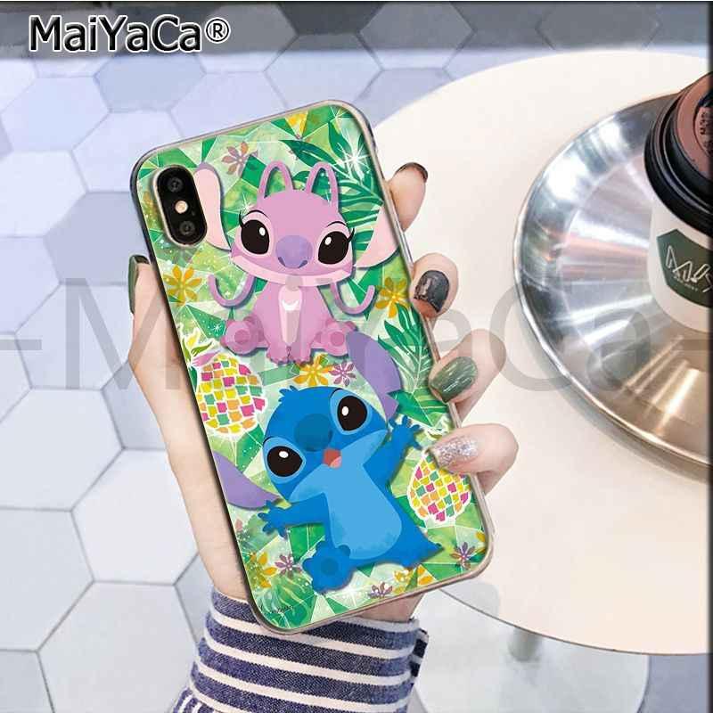 189c79a94b4 ... MaiYaCa Cute Cartoon Lilo Stitch New Arrival Fashion on sell phone case  for iPhone 8 7
