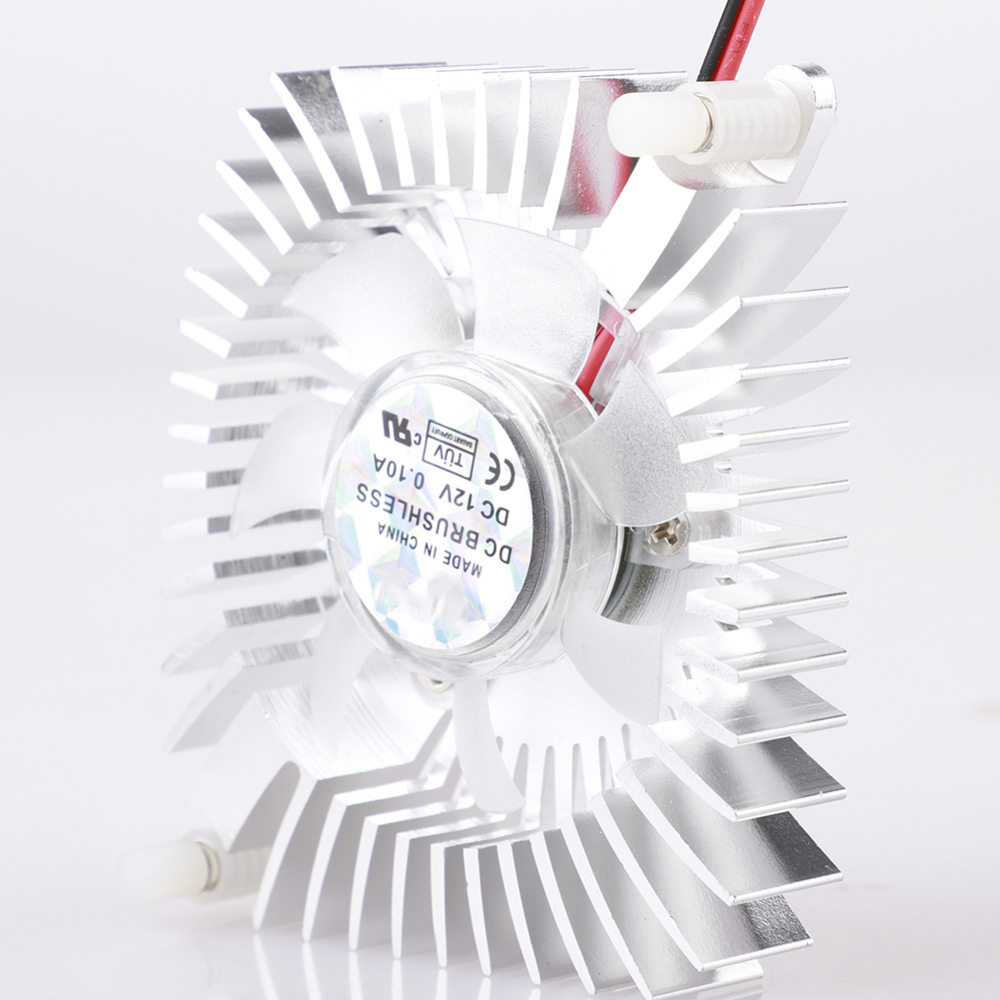 Hot Sale DC <font><b>12V</b></font> <font><b>80mm</b></font> Video Graphics VGA Radiator Cards Cooling <font><b>Fan</b></font> Mounting Hole <font><b>Fan</b></font> For <font><b>PC</b></font> image