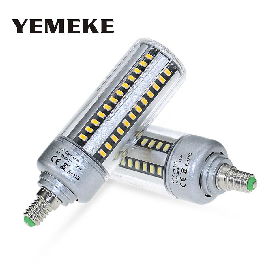 SMD 5736 E27 Led Bulb E14 LED Corn Lamp 5W/7W/9W/12W/15W/18W/20W No Flicker Bombillas Led Energy Saving Lights for Home Kitchen