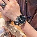 Модные Военные Спортивные часы MEGIR, мужские кварцевые наручные часы, водонепроницаемые армейские часы с кожаным ремешком, мужские часы Relogio ...