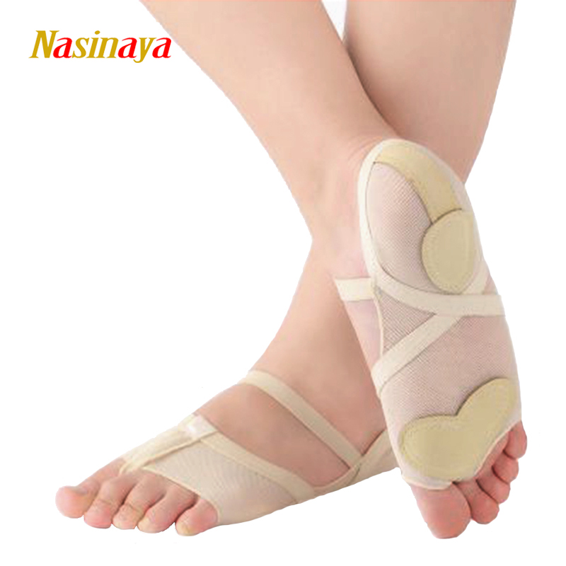 Rhythmic Gymnastics RG Shoes Mats Dance Sneakers 2 Toes Competition Ballet  Air Mesh Microfiber Soft Shoes Elastic Full Foot