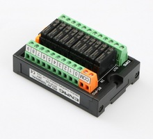 цена на 10 way open contact relay module PLC output signal amplifying relay disc RT-P10S 24V