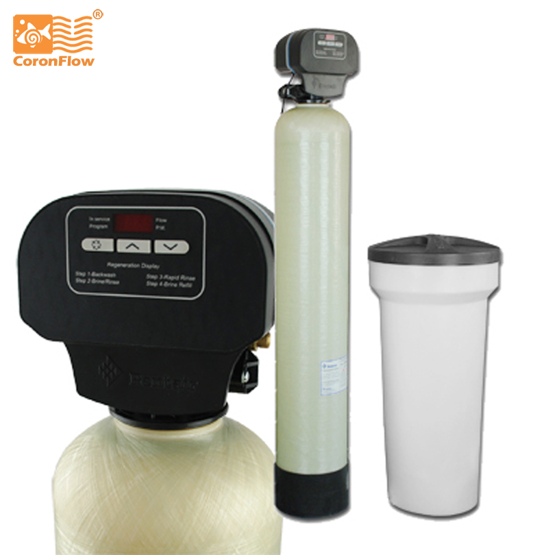 Coronflow Water Softener System CWS-CSM-844  Water Purifier for Hard Water manual control valve f64f for water softener