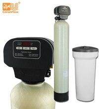 Система умягчителя воды Coronwater, очиститель воды для жесткой воды, с функцией очистки от воды, для использования в жесткой воде