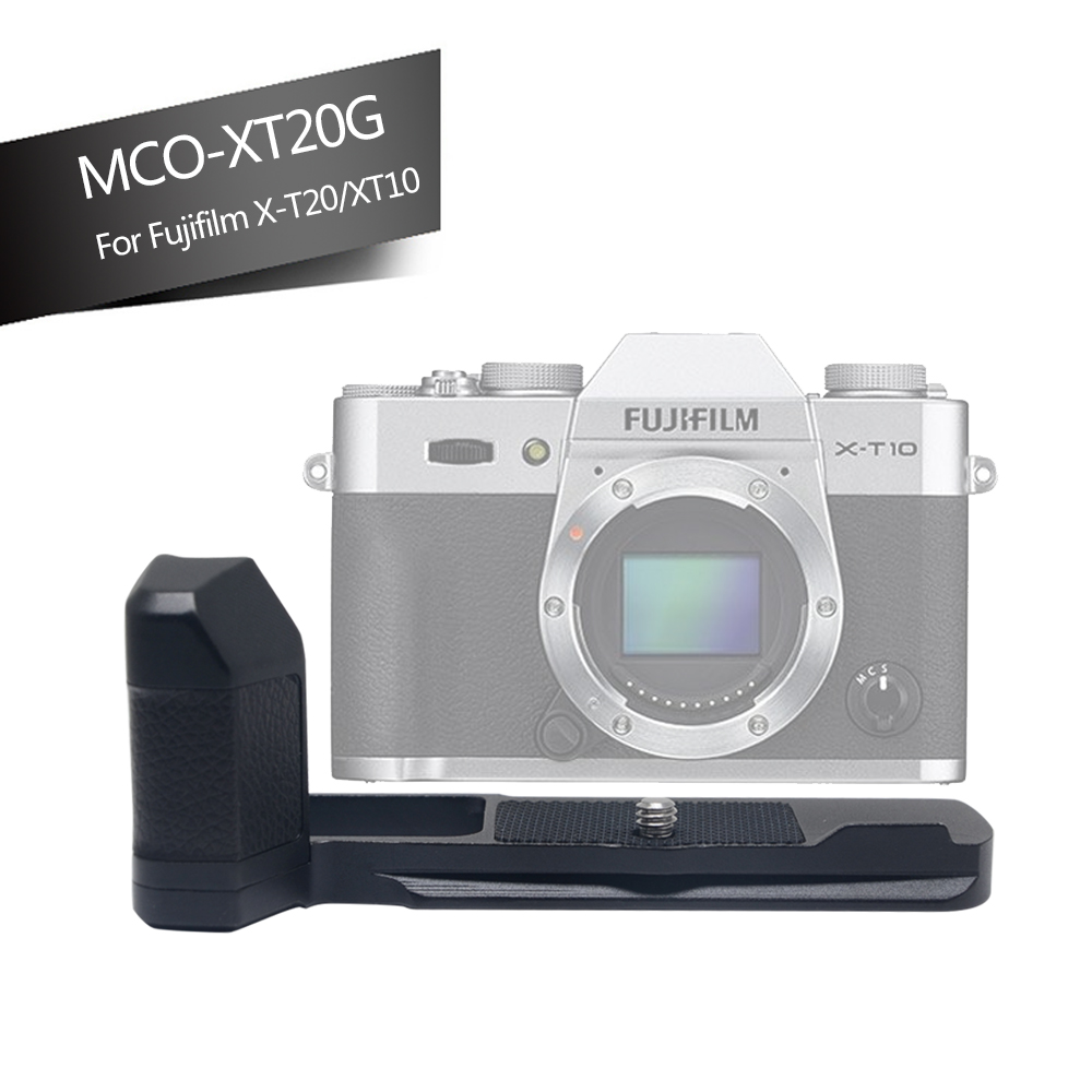 цена на Mcoplus XT20 metal Hand Grip for fujifilm XT20 XT10 X-T20 X-T10 Camera