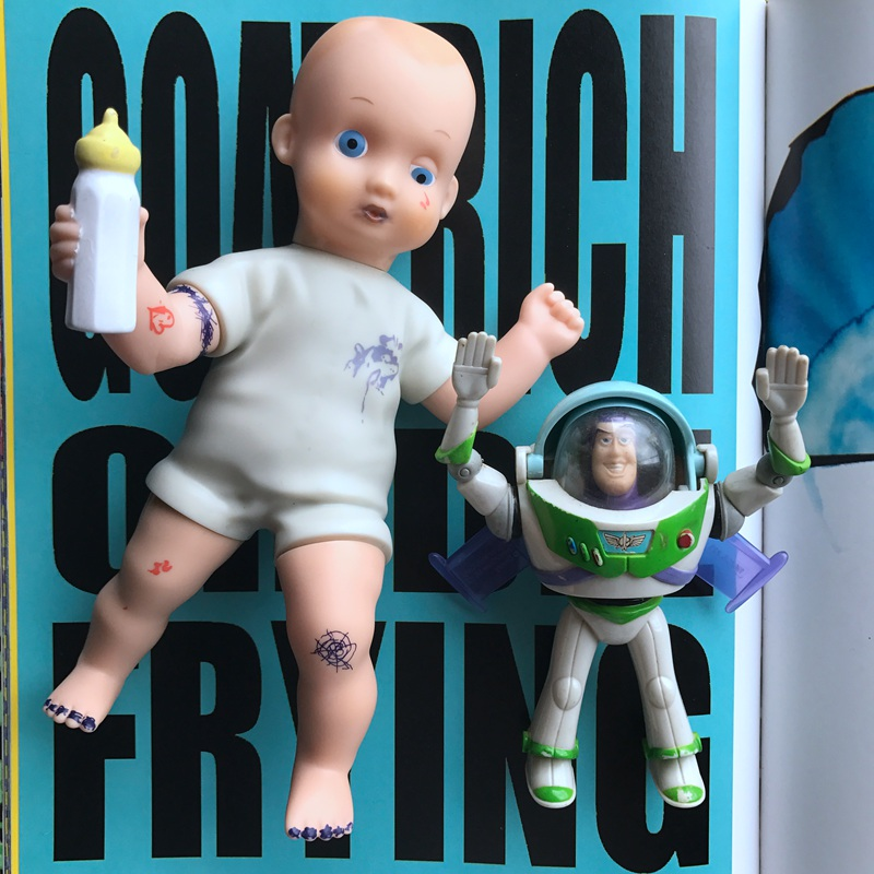 Original Classic Toy 8'' Fun Toy Story Big Baby Action Figure Doll PVC Collectible Model Toy For Kids Gifts