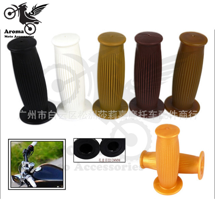 retro cafe moto ATV Off-road dirt pit bike handle bar motocross scooter handle grips motorbike handlebar for harley grip moto