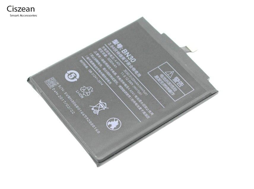 Ciszean Phone-Replacement-Battery Xiaomi Redmi Bn30/bn 3120mah For Hongmi-Redrice 4-A