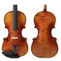 Free Shipping Copy Stradivarius 1689 100% Handmade Oil Varnish Violin FPVN05 Seasoned Wood with Foam Case and Bow