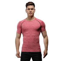 2017 New Brand Clothing Gyms Tight T Shirt Mens Fitness T Shirts Homme Gyms T