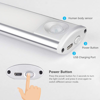Hot Portable Under Cabinet Lights LED Motion Sensor Closet Lights Stick on Wireless LED Light Bar XJS789