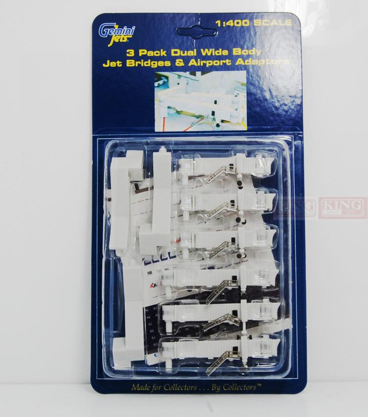 GeminiJets GJARBRDG2 dual channel &amp bridges; airport ground sticker 1:400 commercial jetliners plane model hobby gjcca1366 b777 300er china international aviation b 2086 1 400 geminijets commercial jetliners plane model hobby